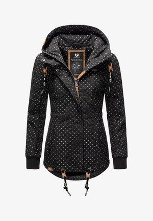 YM-DANKA DOTS - Winter coat - black