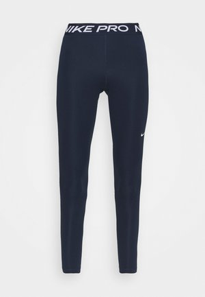 Leggings - obsidian/white