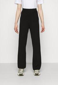 YAS - YASFIBA PANTS - Trousers - black - 0