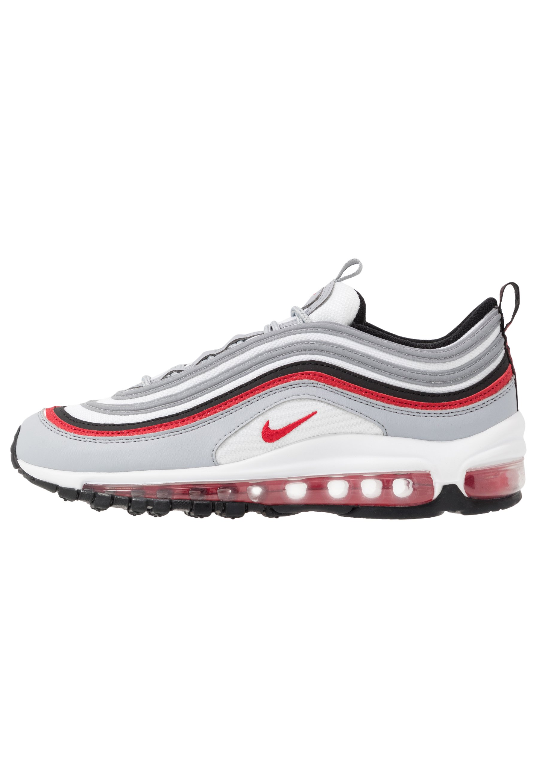 AIR MAX 97 UNISEX - Sneakers laag - wolf grey/university red/black