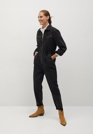 LUNA - Jumpsuit - black denim