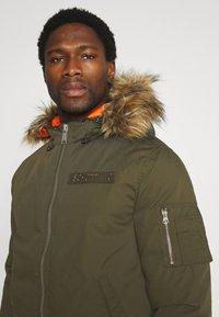 Schott - POWELL - Winter jacket - kaki - 4