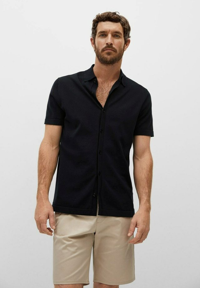 REGULAR FIT - Shirt - schwarz