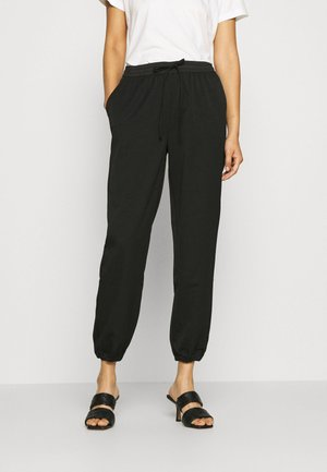 DULICE PANTS - Trousers - black