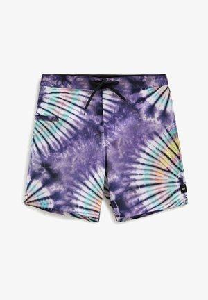 MN NEW AGE BOARDSHORT - Shorts - new age purple tie dye