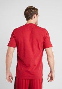 adidas Performance - LIN TEE - Print T-shirt - red - 2