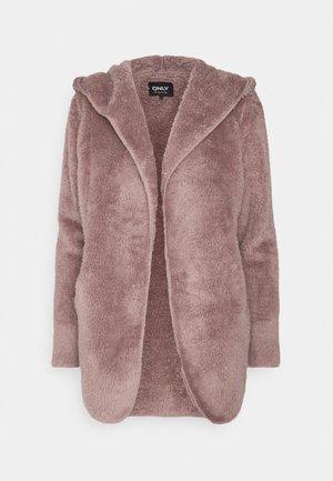ONLNEW CONTACT HOOD COAT - Summer jacket - woodrose