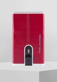 Piquadro - SQUARE - Custodia per biglietti da visita - red - 0