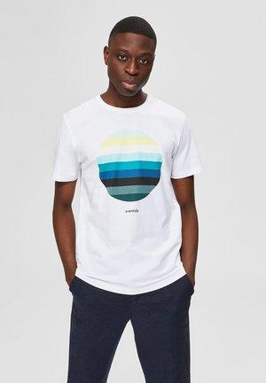 REGULAR FIT - T-Shirt print - bright white 2