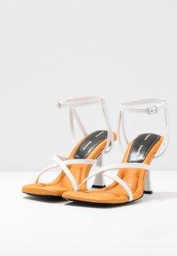 Proenza Schouler - High heeled sandals - nero/osso - 2