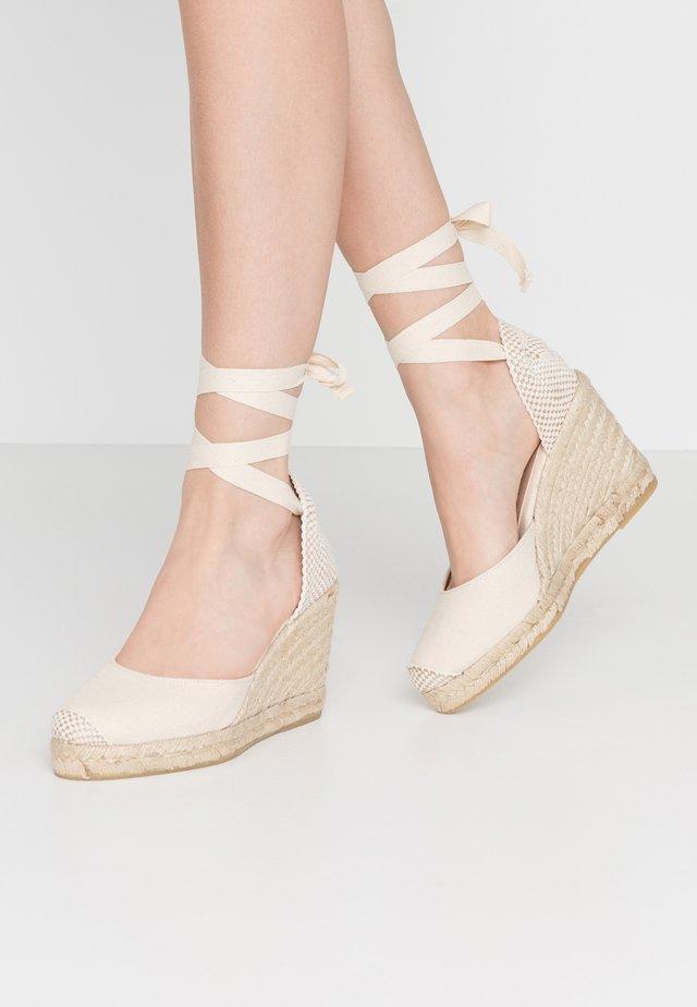 MARMALADE - Sandalen met hoge hak - natural