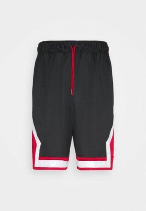JUMPMAN DIAMOND SHORT - Pantalón corto de deporte - black/gym red/white/black