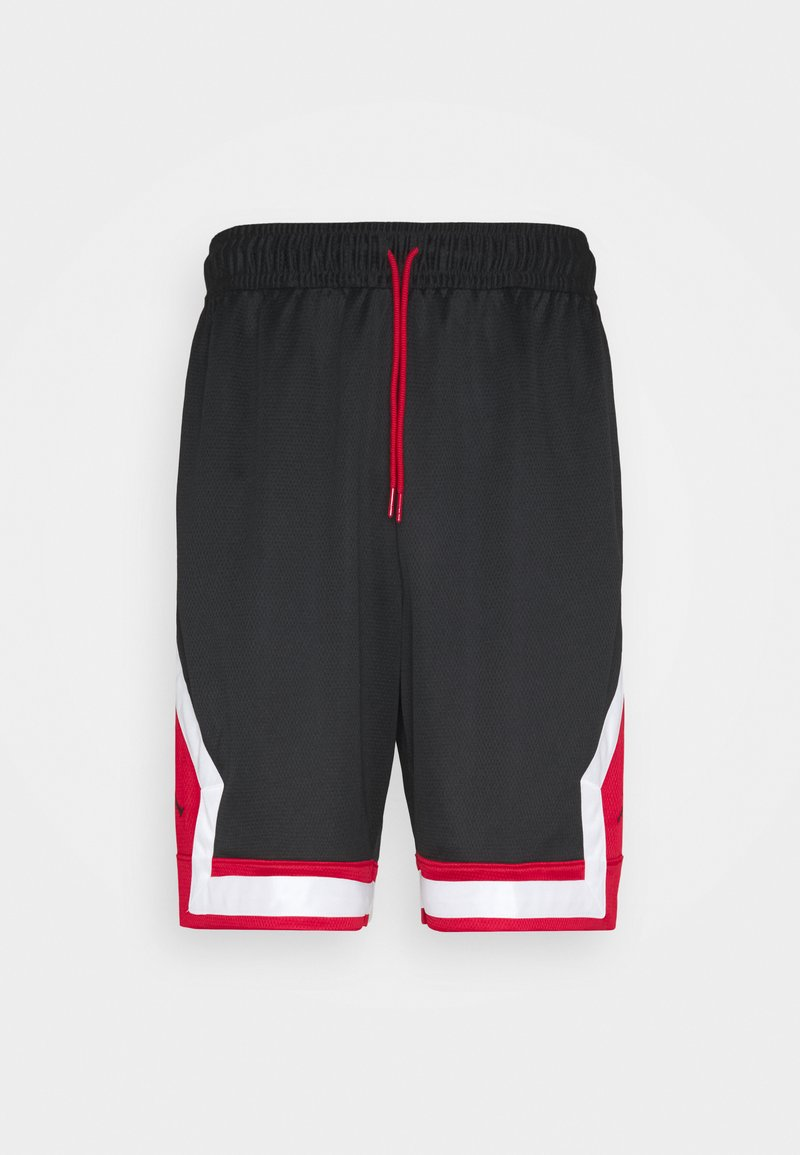 Jordan - JUMPMAN DIAMOND SHORT - Sportovní kraťasy - black/gym red/white/black