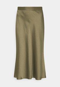 comma - Áčková sukně - khaki - 0