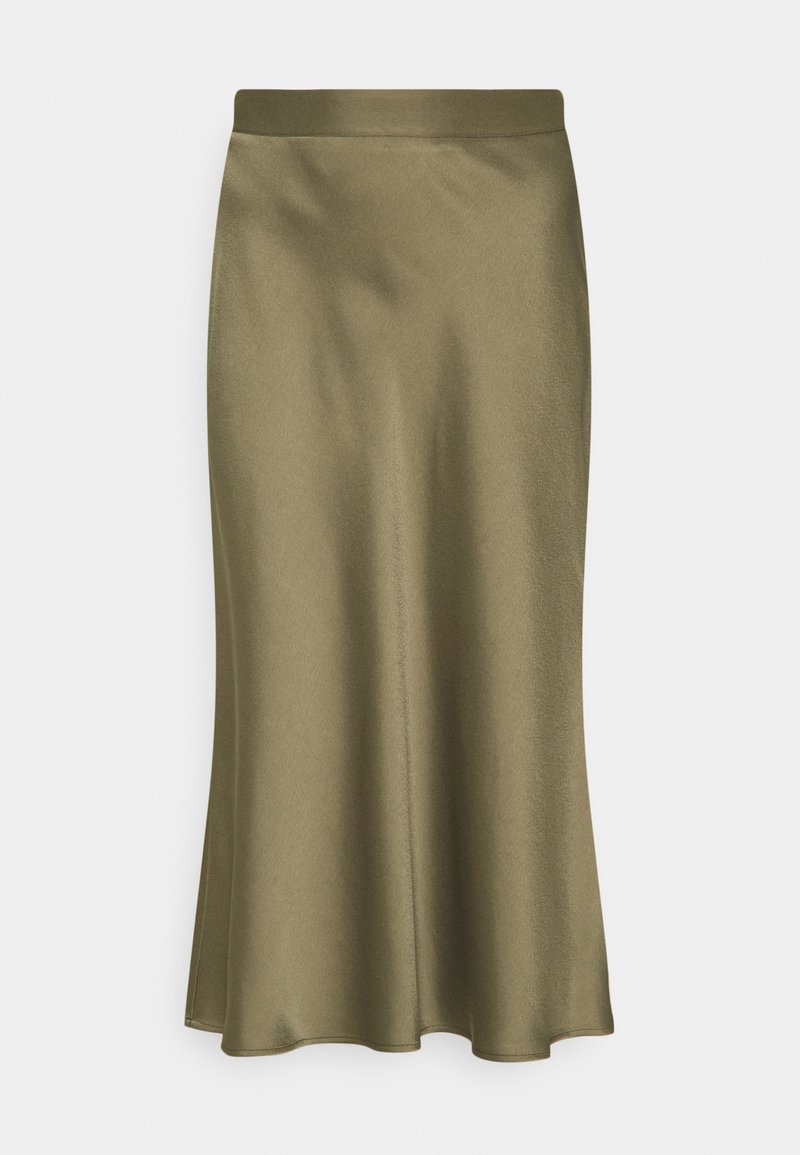 comma - Áčková sukně - khaki