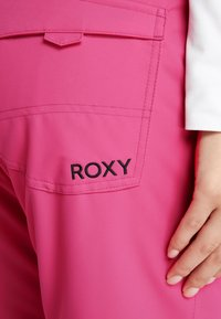 Roxy - BACKYARD  - Snow pants - beetroot pink - 5