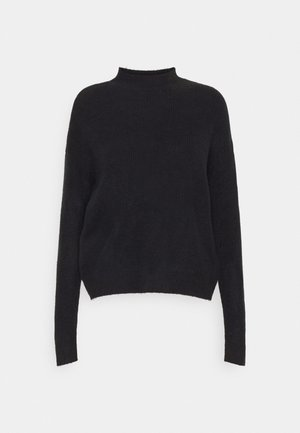 VMLEFILE HIGHNECK - Svetr - black