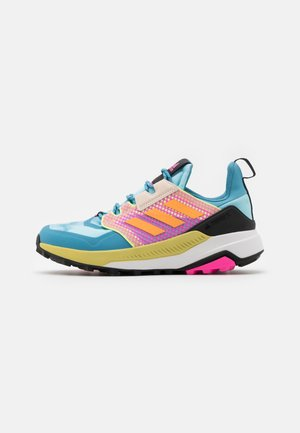 TERREX TRAILMAKER - Zapatillas de trail running - haze sky/haze orange/pink