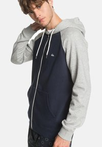 Quiksilver - EVERYDAY - Felpa aperta - blue - 3