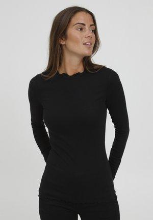 HIZAMOND  - Langærmede T-shirts - black
