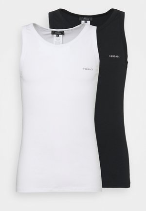 2 PACK - Undershirt - black/white