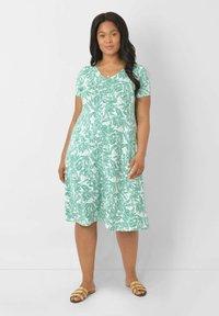 Live Unlimited London - Jersey dress - green - 0