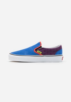 CLASSIC UNISEX - Slip-ons - grape juice/bright marigold