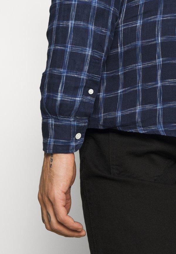 Wrangler LS 1 PKT SHIRT - Koszula - limoges blue/granatowy Odzież Męska DLEB