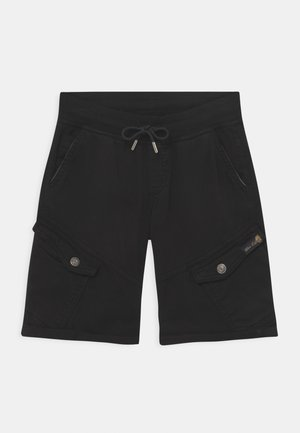 BOYS - Pantaloni cargo - schwarz reactive