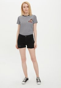 DeFacto - Denim shorts - black - 1