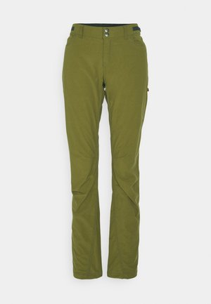 SVALBARD LIGHT PANTS - Trousers - olive drab