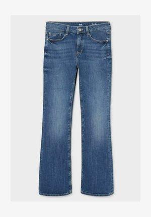 Bootcut jeans - denim-blue