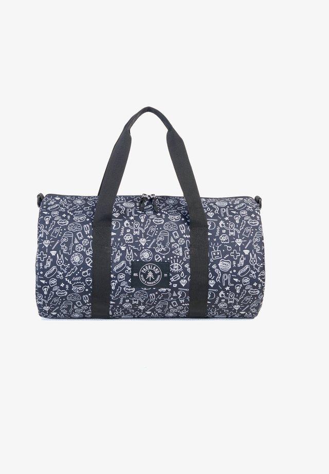 LOOKOUT  - Weekend bag - blue