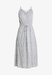 HALTER DRESS - Maxi dress - blue