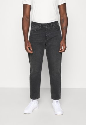 NEWEL PANT MAITLAND - Relaxed fit -farkut - black mid worn wash