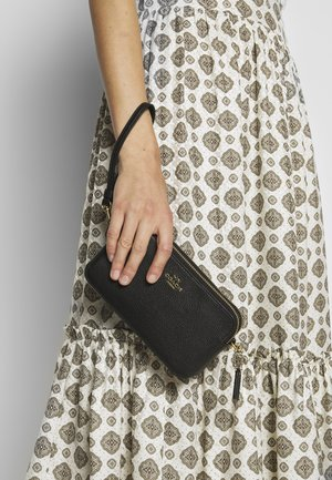 POLISHED PEBBLE KIRA CROSSBODY - Across body bag - black