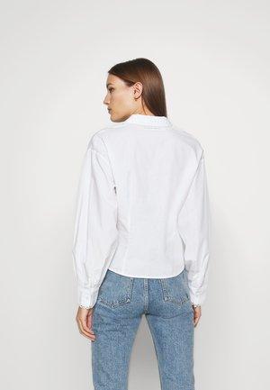 SLFROMANCE SHIRT - Button-down blouse - bright white