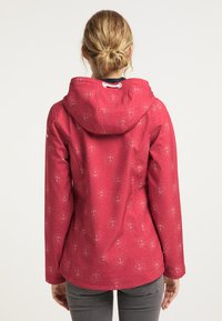 Schmuddelwedda - Outdoor jacket - rot aop - 2