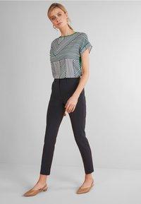 Next - SLIM TROUSERS - Spodnie materiałowe - blue - 1