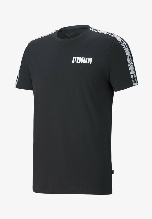 T-shirt imprimé - cotton black