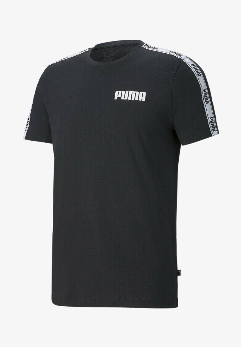 Puma - Print T-shirt - cotton black