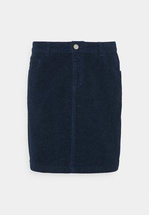 ROMY SKIRT - Mini skirt - dark denim