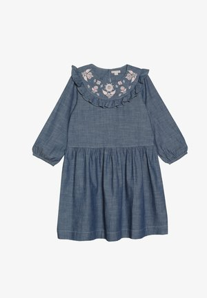 PANSY DRESS - Denimové šaty - indigo