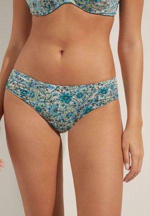 MIT RAFFUNG SWEET FLOWERS - Bikini bottoms - st.sweet flowers
