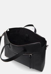 Zign - LEATHER - Laptop bag - black - 2