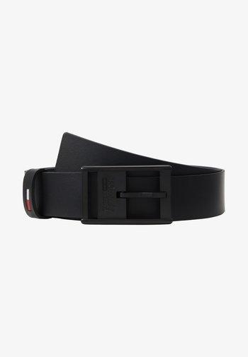 INLAY BELT - Belt - black