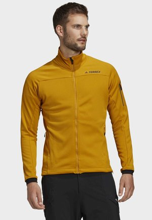 STOCKHORN FLEECE JACKET - Chaqueta de entrenamiento - gold
