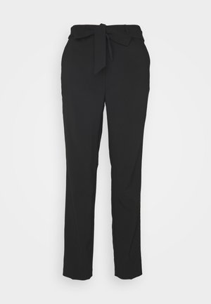 POPPY - Trousers - black