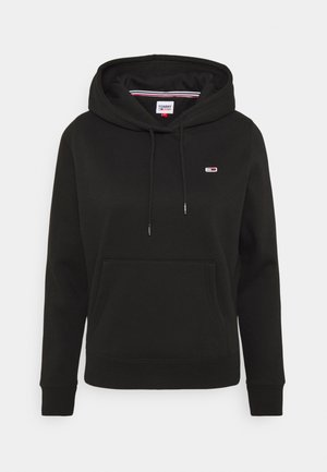 REGULAR HOODIE - Sweatshirt - black