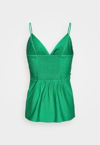 Banana Republic - STRAPPY TWIST FRONT TEXTURE TANK - Top - kailua green - 1